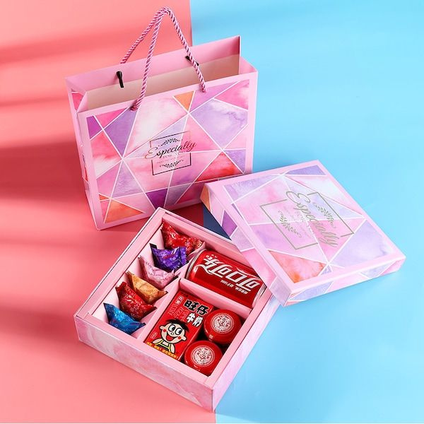 طريقة عمل هدايا بسيطة Container Electronic Products Takeout Container
