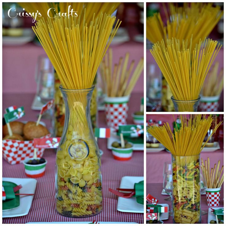 Crissy's Crafts: Girl Scouts Italian Night - Simple Meals Badge
