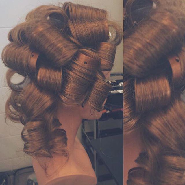 Curl Set done on #patriciathemannequin
