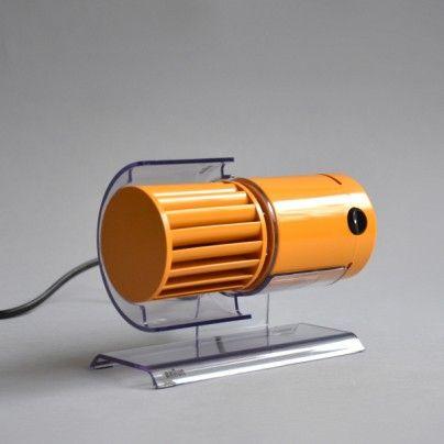 """Braun HL 70"" desk fan, designed by Reinhold Weiss, Jurgen Greubel, 1971, for Braun"