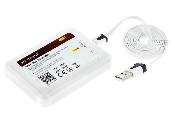 Smartphone or Tablet Wi-Fi LED Controller Hub | RGB LED Controllers | LED Controller & LED Dimmers | LED Strip Lights & LED Bars | Super Bright LEDs