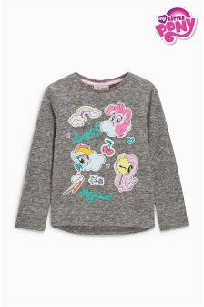 Tricou gri My Little Pony (3 luni - 6 ani)