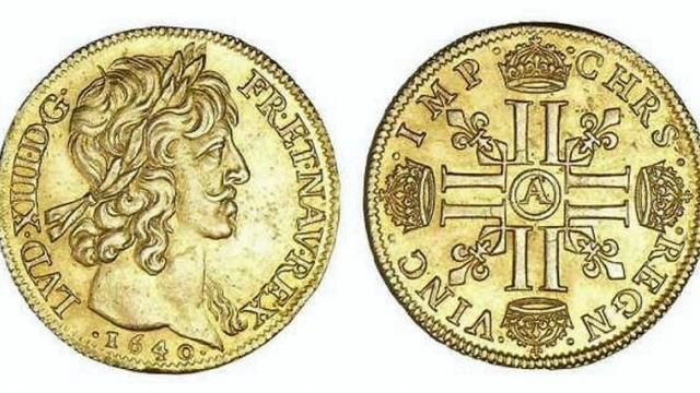 Louis XIII - double Louis d'or - 1640
