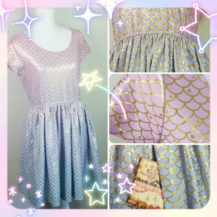 Image of Mermaid Parlour Skater Dress with Hidden Pockets