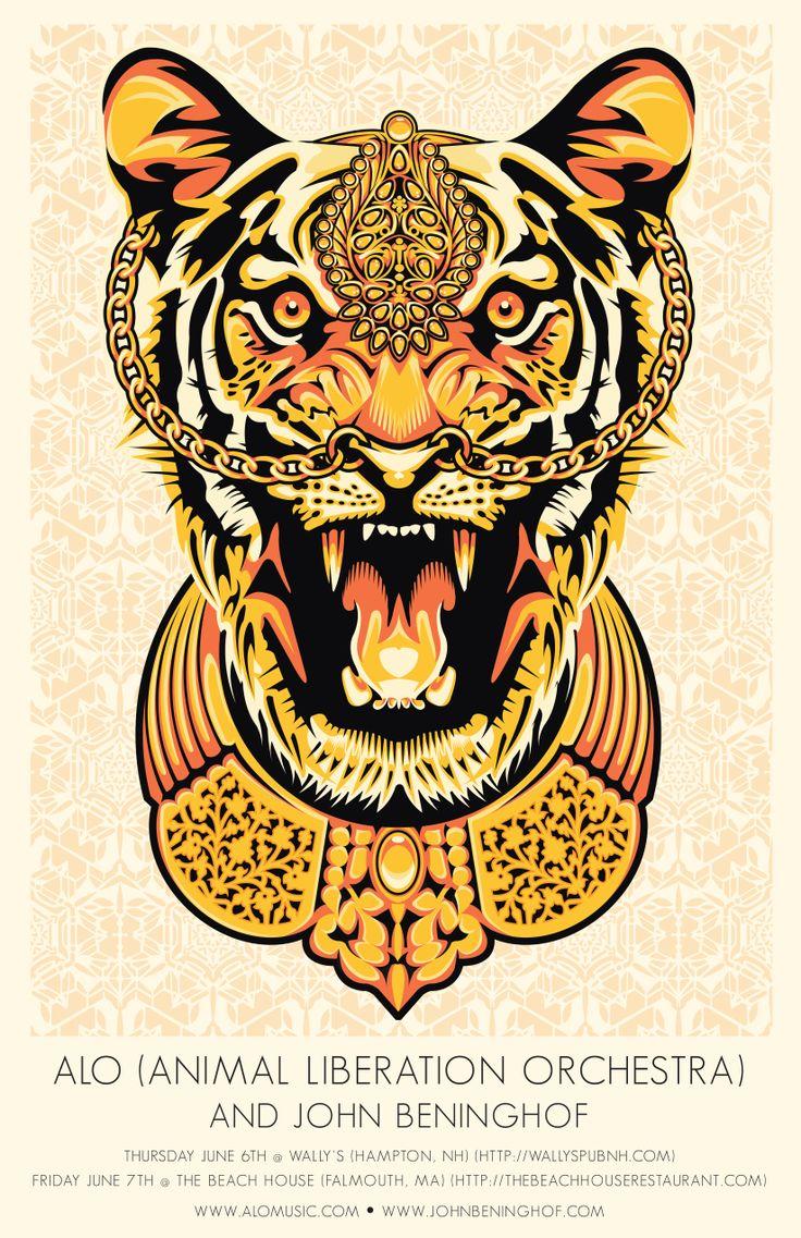 Poster de la Animal Liberation Orchestra