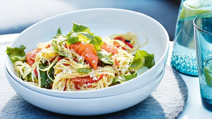 Homelife - Capellini With Salmon, Chilli, Rocket & Capers