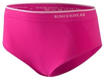 Runderwear Women's Brief-Anti-Chafe Underwear for Running, Cycling and All Other Sports