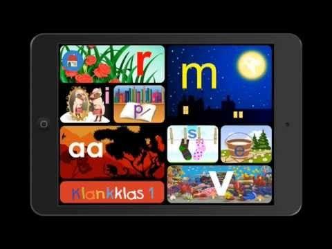 Klankklas 1 & 2 - Educatieve iPad apps - YouTube