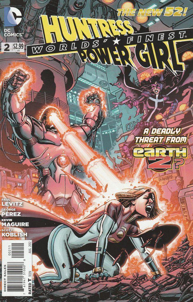 Worlds' Finest # 2 DC Comics The New 52! Vol 3