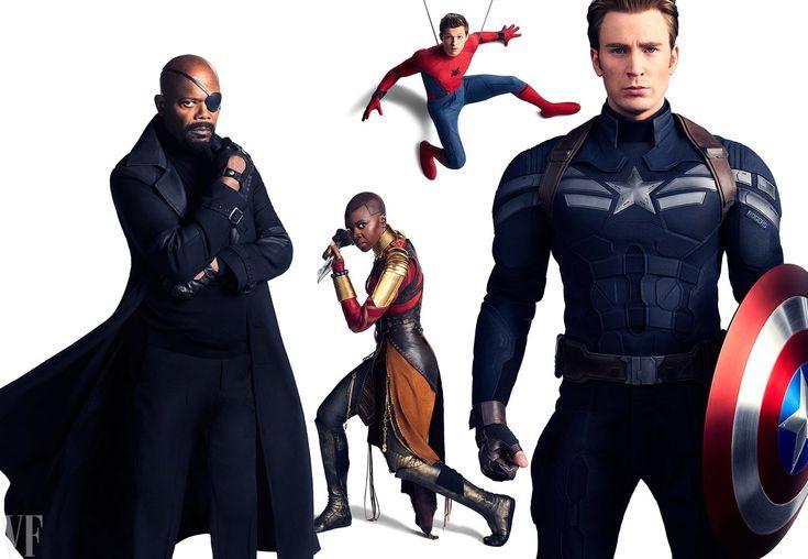 Avengers - Infinity War : L'Univers Cinématographique Marvel en couverture de Vanity Fair ! - Les Toiles Héroïques