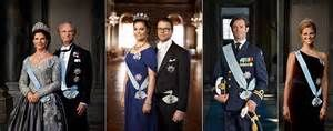 Sweden's Monarchs, Prince, and Princess's
