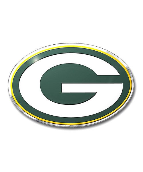 Another great find on #zulily! Green Bay Packers Color Emblem by Team ProMark #zulilyfinds