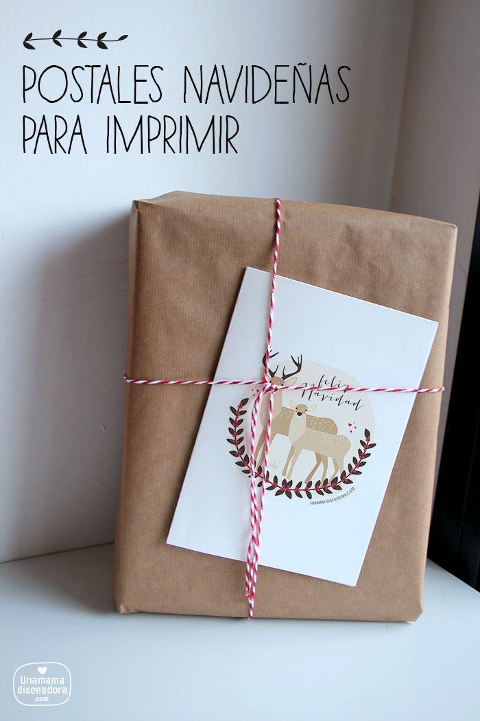 13 best tarjetas de navidad images on pinterest merry - Imagenes de navidad para imprimir ...