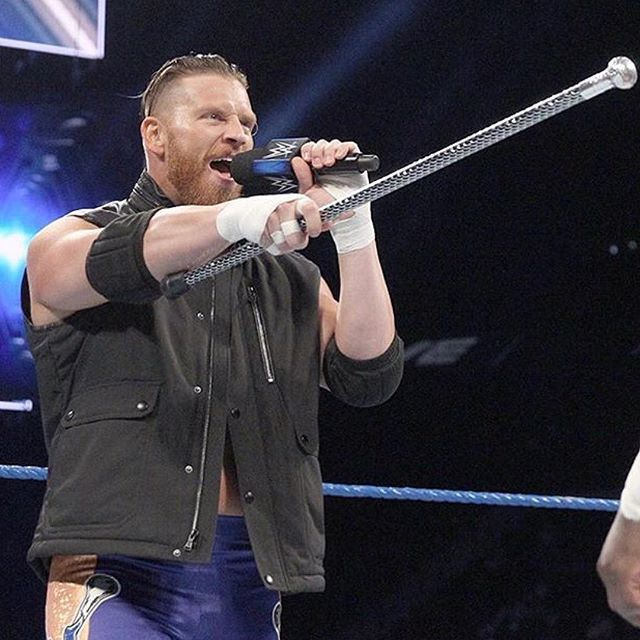 THEY DOIN' CURT DIRTY. 😤 all those weeks of vignettes and he loses his first televised match to Dolph Ziggler... in five seconds. Very confusing how they do things like this now a days.  #WWE #CurtHawkins #FaceTheFacts #PrinceOfQueens #EdgeHead