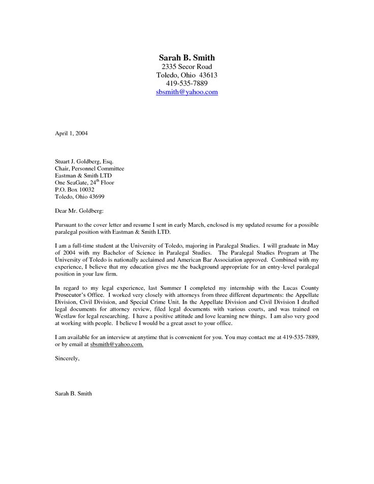 Best 25+ Examples of cover letters ideas on Pinterest Cover - Email Cover Letter Example