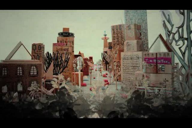 Stranger on Vimeo - Cool use of multimedia - stop motion, graphics, illustration etc