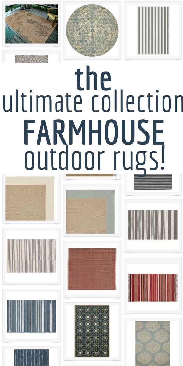 30 Of The Most Stylish Outdoor Rugs For Your Home Farmhouse