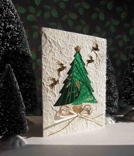 Christmas Tree Card by Warm Touch Creations
