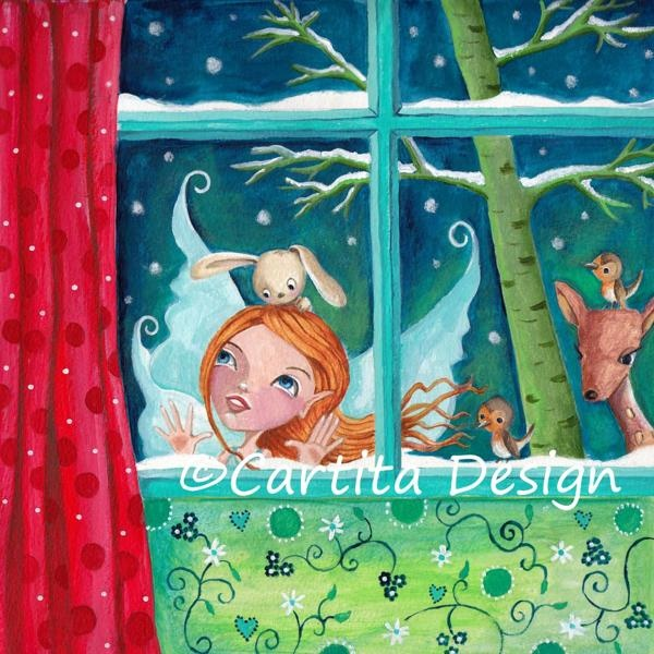 Christmas Cards 2012 by Caroline Bonne-Müller, via Behance