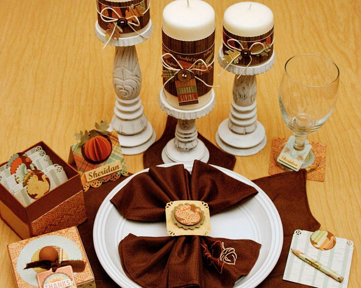 Unique Thanksgiving Decoration Pictures Dining Table