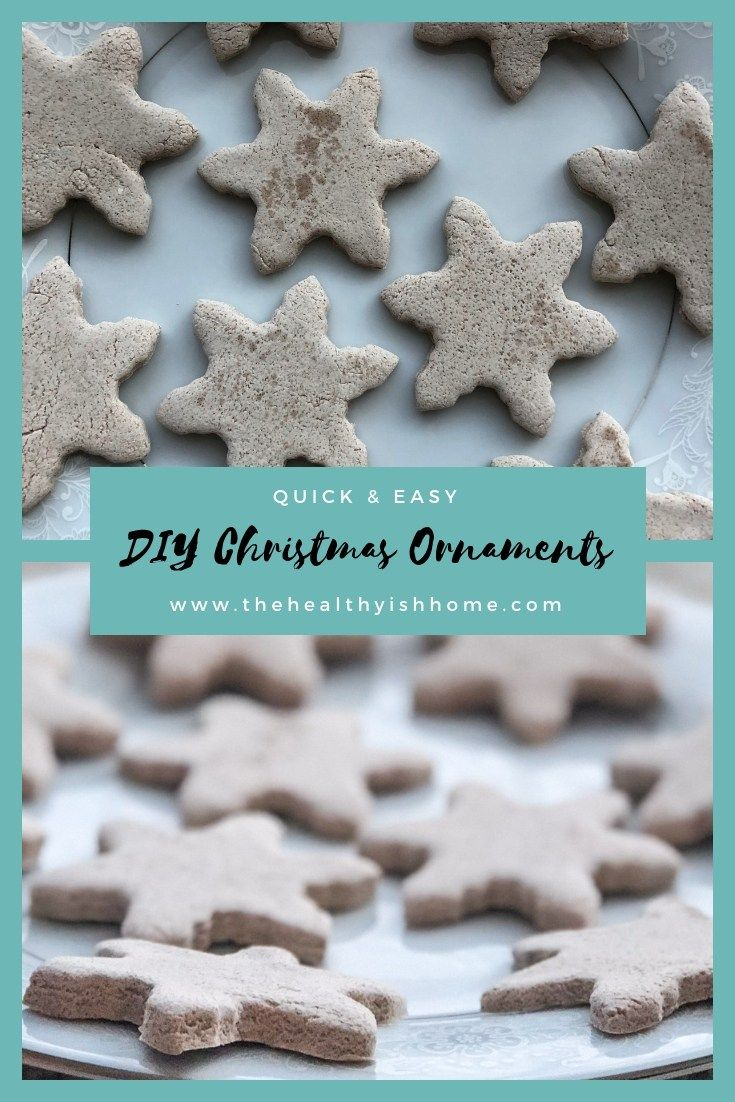 Salt Dough Ornaments Recipe Christmas Activities For Kids Diy Christmas Ornaments Easy Homemade Christmas Ornaments Diy