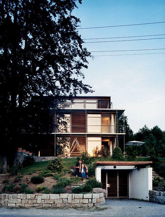 Hanghäuser Modern 25 best hanghäuser images on small homes tiny house
