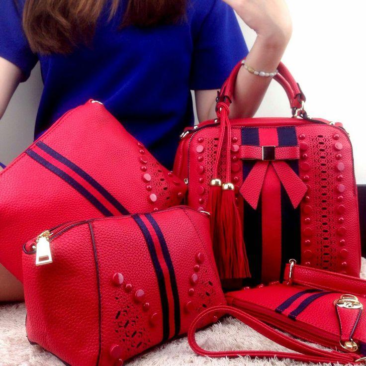 #tas#tasfashion (315ribu) 4in1 New Arrival Fashion Canberra Glamour VN1008 # Leather Quality Semi Premium# 26×13×23 & 22×20 & 19×14 & 19×12 (1,4kg)nd Best Seller & Limited Stock, Beneran Bagussss BB 5994f533 WA 08566549554/085765937530 Tokopedia Hasna Wakhid olshop FB Hasna Wakhid tas