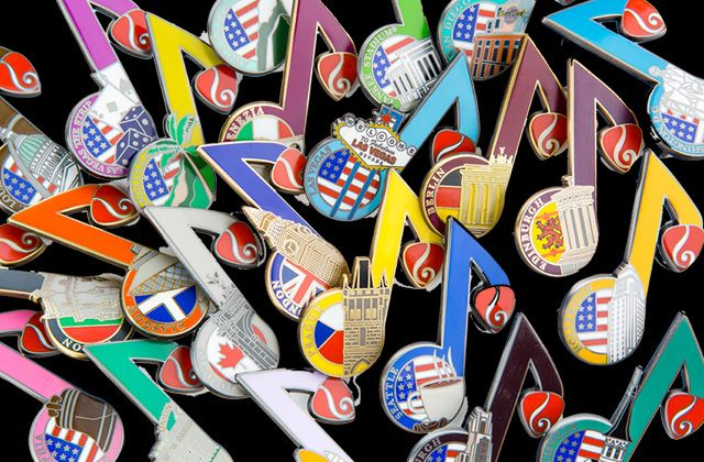 Hard Rock Heals Collector Pin