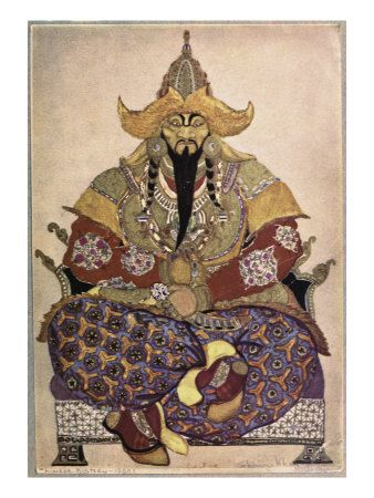 Genghis Khan - the Mongol Empire didn't long outlive him. His sons and successors fell to infighting.