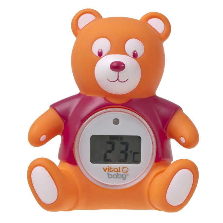 Get #newmums ready for baby's #firstchristmas with some lovely stocking fillers from Vital Baby - including this adorable (but essential!) teddy-shapped Nurture Digital Bath & Room Thermometer