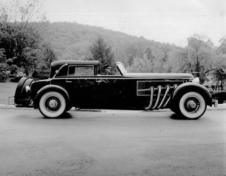 """""""The Last Duesenberg"""" - Duesenberg Automobile & Motors Company, Inc., was an American manufacturer of luxury automobiles. Founded in Des Moines, Iowa, by brothers August Duesenberg and Frederick Duesenberg, the company's principal place of operations moved to Auburn, Indiana."""
