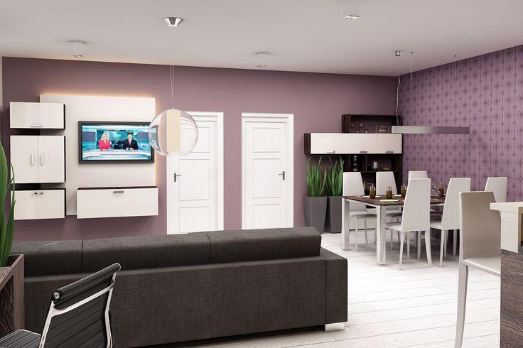 obývací pokoj, jídelní kout