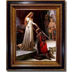 Edmund Blair Leighton 'The Accolade'