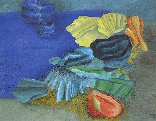 Toyen - Ráno 1931/89x116 cm