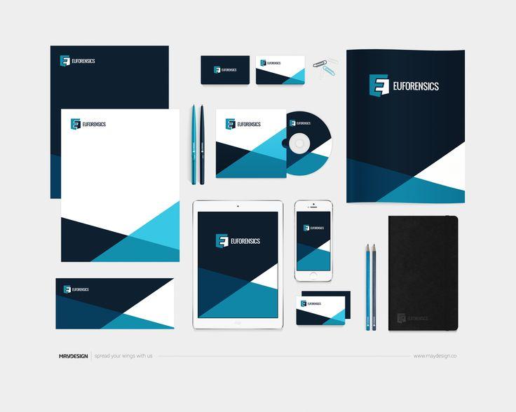 Corporate Identity – EUFORENSICS – 2016 –––  MAYDESIGN http://maydesign.pl