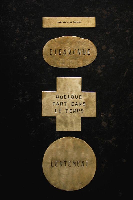 Brass Plate[ 真鍮 表札 / サインプレート ]- IRRE