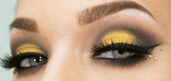 Maquillaje para disfrazarse de abeja en Carnaval 2018