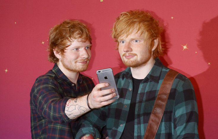 Ed Sheeran's Wax Figure | POPSUGAR Celebrity Photo 7