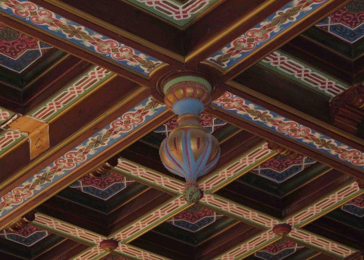 synagóga Malacky detail stropu