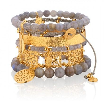 Jesienna impresja. #mokobellejewellery #mokobelle #bracelet #buythelook #set #fashion #trend #gold #grey #fashion