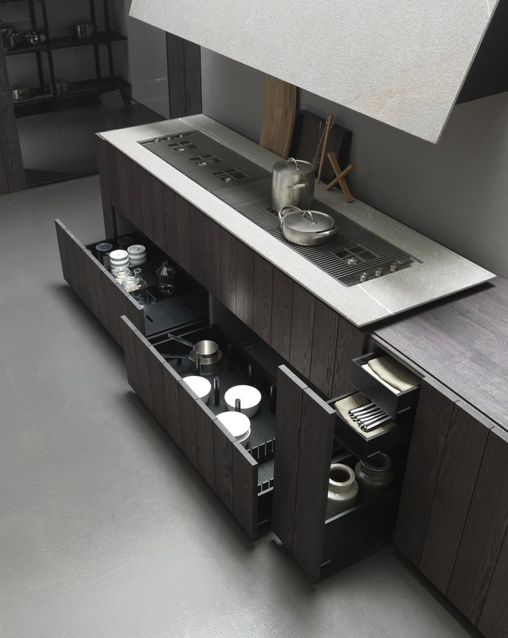 Modulnovas float kitchen a fusion of traditional for Kitchen design 7 x 7