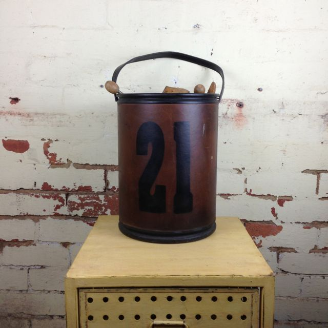 """21"" Storage Buckets from Mulbury via The Third Row"