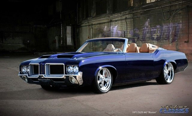 1971 OLDSMOBILE 442 CONVERTIBLE - Custom Cars Showcase | Custom Classics