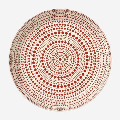 Kulku plate designed by Oiva Toikka for iittala