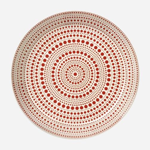 Kulku plate designed by Oiva Toikka for iittala