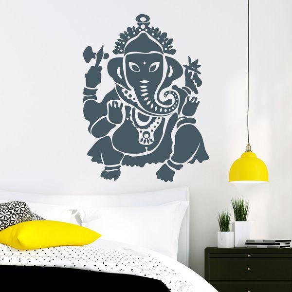 Wandtattoo Elefant Elephant Afrika Safari Buddha von wandtattoo-loft via dawanda.com