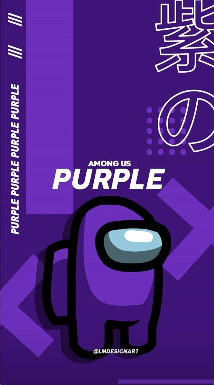 Pin By Bakuhoe On Amoug Us Purple Wallpaper Iphone Cute Patterns Wallpaper Wallpaper Iphone Cute