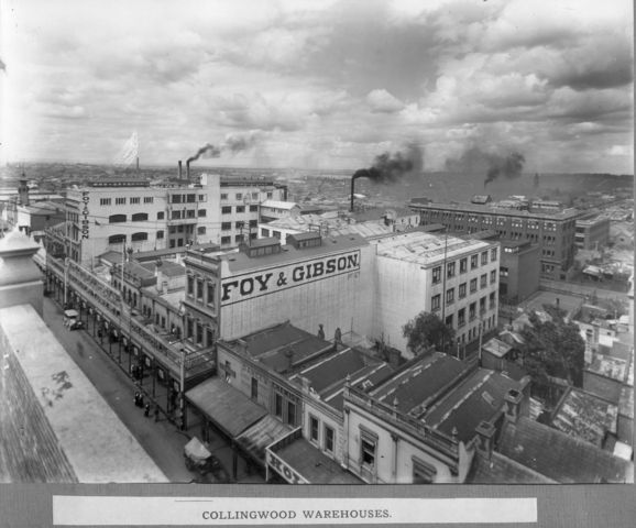 Foy & Gibson was one of Australia's earliest department store chains, modelled on Le Bon Marché in Paris and other European and American Stores of the period. Wikipedia