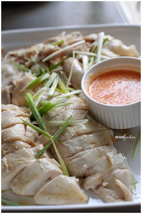 Hainanese Chicken Rice - yum... I had this when I went to Singapore.