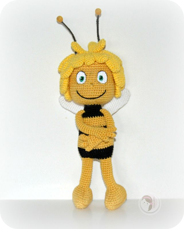 Amigurumi Basic Doll Pattern : 17 Best images about maya the bee on Pinterest